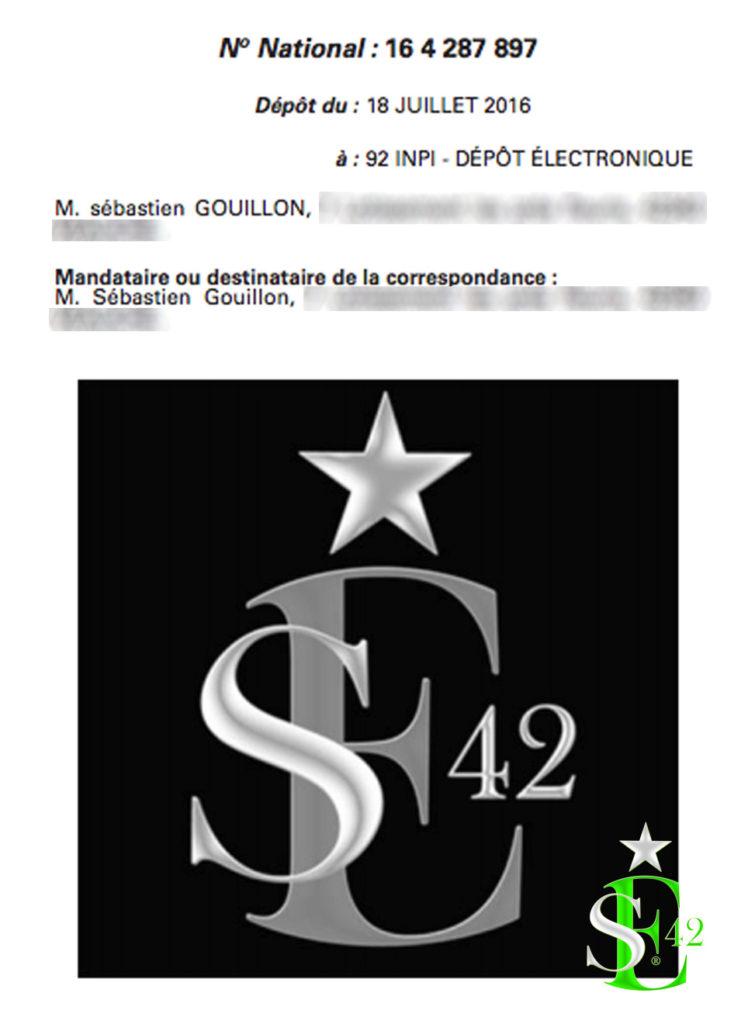 ★SE42 /FIERTÉ POPULAIRE/ - Une marque enregistrée à l'Institut National de la Propriété Industrielle INPI